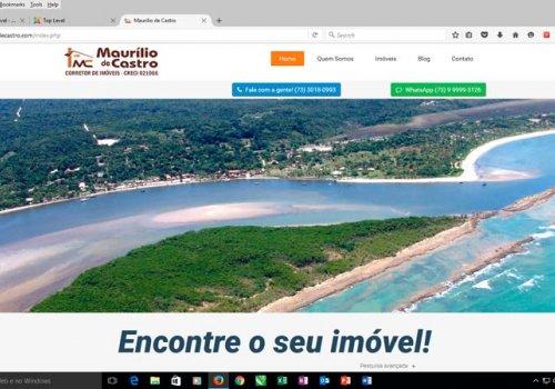 Site Maurílio de Castro