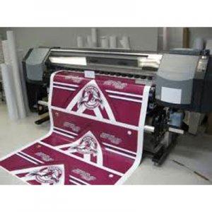 Adesivo Branco Fosco Impressão Solvente m²