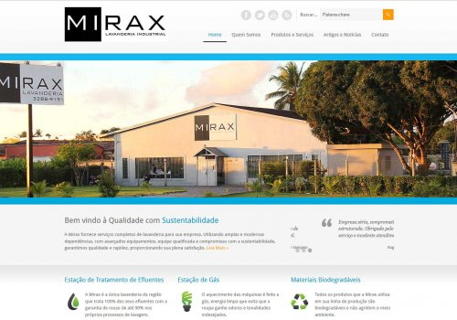Site Lavanderia Mirax